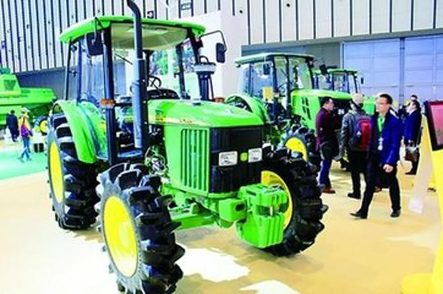 中国农机行业领先品牌,亮相南京国际农业机械博览会