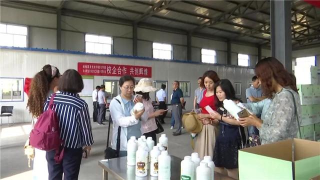 科技部副司长王喆考察农用酵素生产线