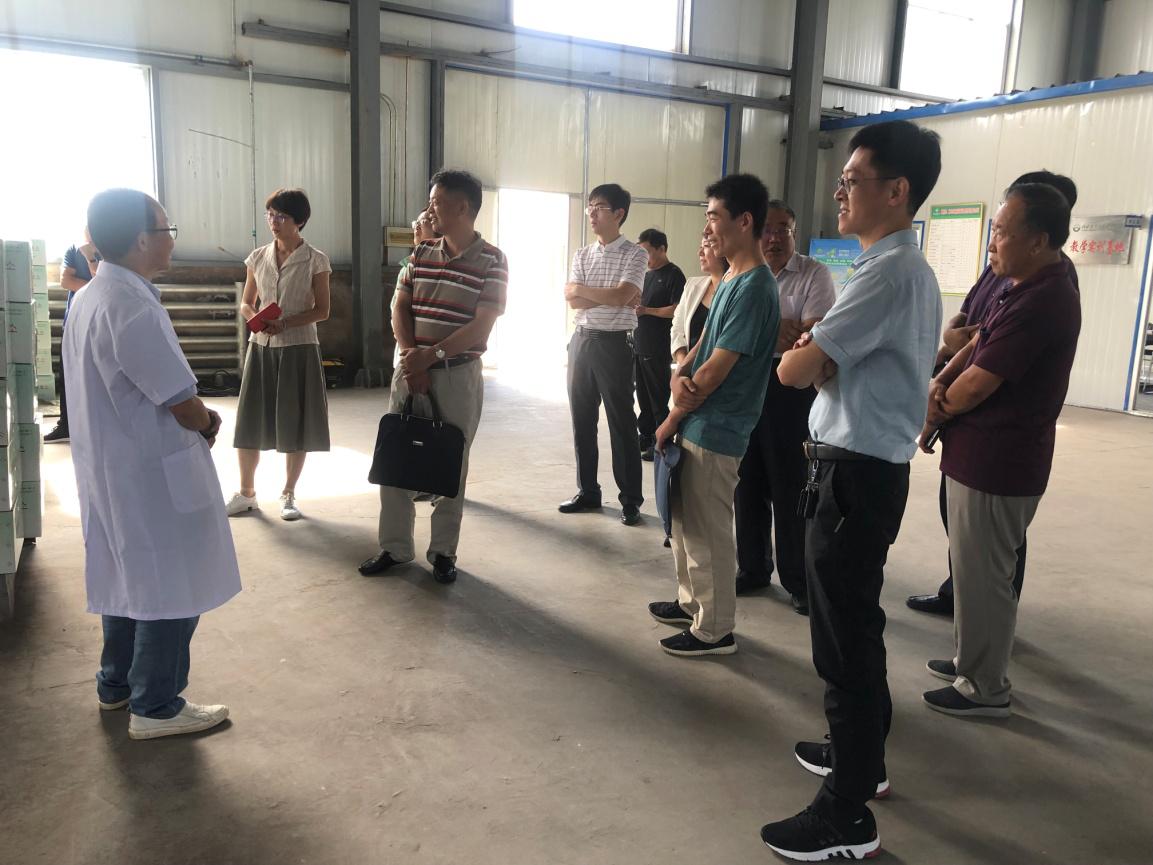 陕西省科技厅有关部门领导来公司调研指导工作